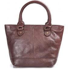 Barbour Bag Preston Ladies Brown Leather Handbag