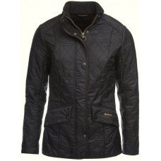 Barbour Jacket Cavalry Polarquilt Ladies Black
