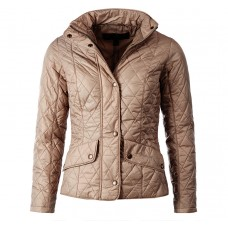 Barbour Jacket Flyweight Cavalry Womens Taupe