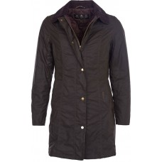 Barbour Jacket Belsay Olive Ladies Wax Jacket