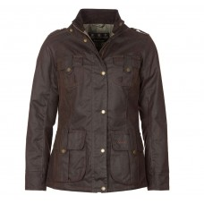 Barbour Winter Defence Waxed Cotton Jacket Ladies