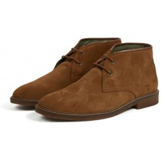 Barbour Kalahari Brown Suede Mens Desert Boots