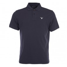 Barbour Sports Polo Navy Mens Shirt