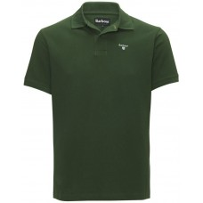 Barbour Sports Polo Racing Green Mens Shirt