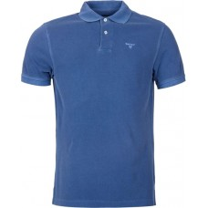 Barbour Sports Polo Marine Blue Mens Shirt