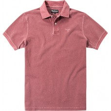 Barbour Sports Polo Biking Red Mens Shirt