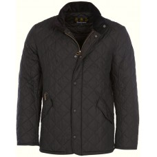 Barbour Jacket Chelsea Sportsquilt Mens Black