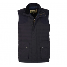 Barbour Jacket Bradford Quilted Gilet Navy
