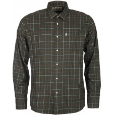 Barbour Shirt Brampton Mens Olive Shirt