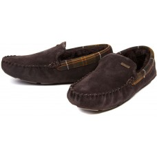 Barbour Montys Brown Slippers