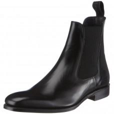 Loake Chelsea Boot Style Mitchum Men's Black Leather Shoes