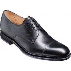 Barker Morden Derby Toe Cap Expresso Calf Leather Mens Shoes (11 G Wide Fit)