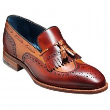 Barker Morgan Cedar Rosewood Calf Shoes (07)