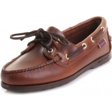 Sebago Victory Ladies Brown Deck Shoes