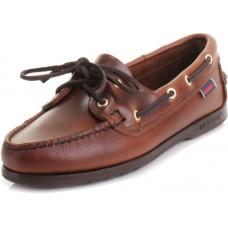 Sebago Victory Ladies Brown Deck Shoes