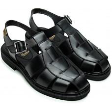 Paraboot Iberis Black (Lis Noir) Leather Ladies' Sandals