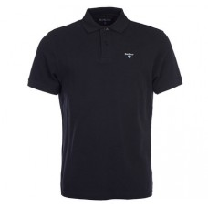 Barbour Sports Polo Black Mens Shirt