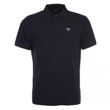 Barbour Sports Polo Black Mens Shirt