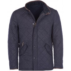 Barbour Jacket Quilted Powell Navy Mens
