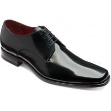 Loake Derby Style Black Mens Leather Shoes (10½)