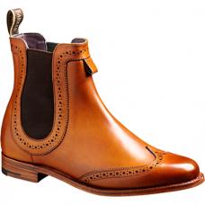 Barker Chelsea Boot Style Sabrina Cedar Calf Womens Leather Boots