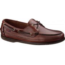 Sebago Schooner Oiled Waxy Brown Brown Sole Deck Shoes