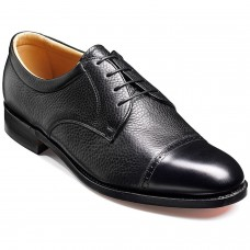 Barker Staines Black Softie Oxford Shoes (07½)