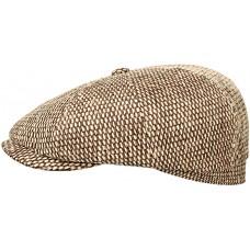 Stetson Hatteras Toyo Brown Straw Cap (100% Viscose)