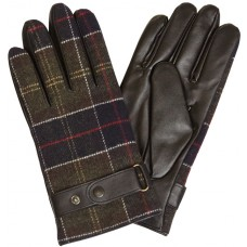 Barbour Gloves Classic Tartan Brown