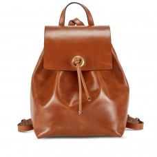 Tusting Erica Cognac Tan Leather Backpack