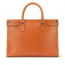 Tusting Kimbolton Caramel Saddle Leather Tote
