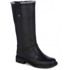 EMU Australia Shale Ladies Sheepskin Lined Black Boots