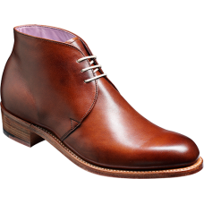 Barker Chukka Boot Style Amelia Walnut Calf Ladies Shoes