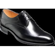 Barker Derby Style Banbury Black Calf Mens Shoes
