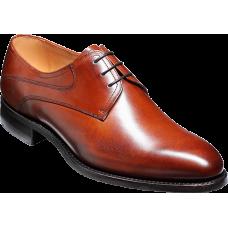 Barker Derby Style Banbury Walnut Calf Mens Shoes (09½)