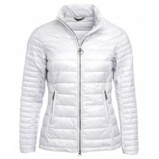Barbour Iona Ladies Ice White Quilted Jacket