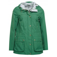 Barbour Brimham Ladies Green Waterproof Jacket