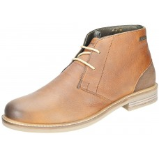 Barbour Readhead Cognac Leather Mens Chukka Boots