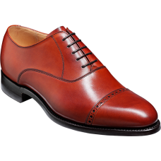 Barker Oxford Toe Cap Style Burford Rosewoof Calf Mens Shoes