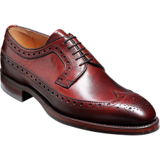 Barker Calvay Cherry Grain Mens Shoes (10½)