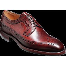 Barker Calvay Cherry Grain Mens Shoes (10½)
