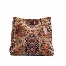 Carpet Bags Tote Lindy Pale-Mosaic