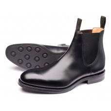 Loake Chatsworth Mens Black Chelsea Boots