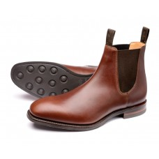 Loake Chatsworth Mens Brown Chelsea Boots (06)