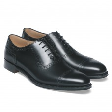 Cheaney Fenchurch Oxford Mens Black Shoes