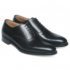 Cheaney Lime Oxford Style Black Mens Shoes