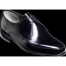 Barker Chesham Black Hi-Shine Derby Shoes