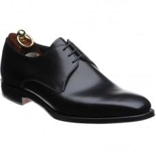 Loake Derby Plain Style Cornwall Black Mens Shoe (08½)