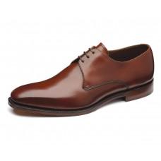 Loake Derby Plain Style Cornwall Brown Mens Shoe