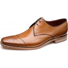 Loake Derby Brogue Style Crawford Tan brown Shoes (07½)